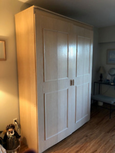 Double Size Murphy Bed - Great Condition