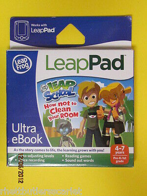 Leap Frog LEAPPAD Leap School ~ HOW NOT TO CLEAN YOUR ROOM ~ Ship Worldwide NIB