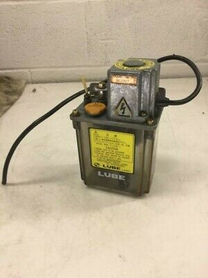 Lube Corp Automatic Lubricator Mod Mlz 200v 15 Min. 2.5cc Discharge Used