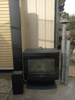 Gas Log Heater Yarraville Maribyrnong Area Preview