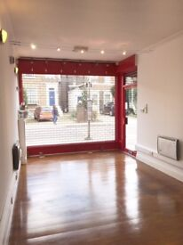 Prime location Vacant shop A1A2 use 650sq ft 2 mins to Ealing Broadway Ready to move into