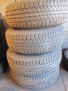 15 in General Evertreck tires 7/32 tread or better 215/70/15 Cambridge Kitchener Area image 1
