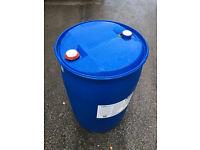 200L water butt / plastic container / sealed drum / liquid tank / fuel storage