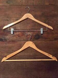 Wooden Shop Style Clothes Hangers Barden Ridge Sutherland Area Preview