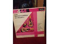 LOS MACHUCAMBOS VINYL RECORD 1962 London