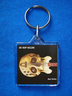 Be Bop Deluxe Axe Victim Keyring Bill Nelson