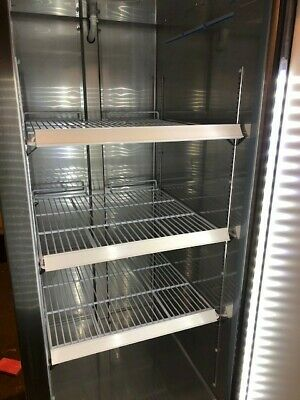 Kool It Commercial Refrigerator Gently Used Stainless Steel Model Kb27rg