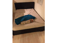 Double Bed bought in March. Decent condition, so comes with complementary wooden planks