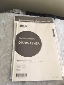 Dishwasher - Built In - LG Fully Integrated