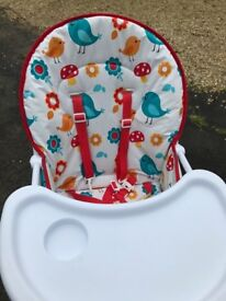 High Chair used once for a wedding