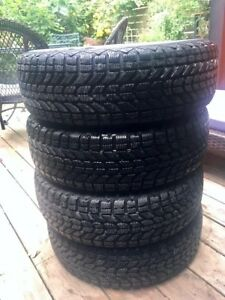 4 Firestone Winterforce Tires 195/70r/14 91s - Lightly Used