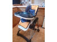 Fully Adjustable Fisher Price High Chair