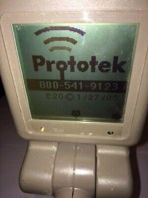 Prototek Lf-2000 Digital Receiver Underground Locating Equipment Line Finder