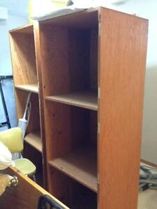 Free Storage Drawers, Metal Wardrobe, & Pine 3 drawer dresser