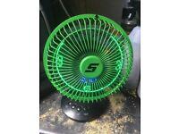 LED snap on fan