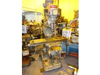 BRIDGEPORT MODEL BR2J TURRET MILLING MACHINE 42 X 9 DRO