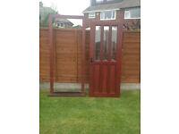 Heavy Solid Wood External Front/Back door