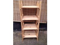 Small *PINE* Wooden Crate Style Shelving Storage Shabby Chic Painting Project?