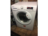 Reconditioned Hoover DYN8144DIX 8kg load 1400 spin washing machine. Free install & 3 month guarantee