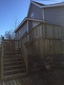 Massive 2 bedroom apartment downtown Wolfville near Acadia U.
