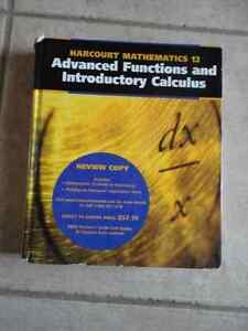 Harcourt Advanced Functions and Introductory Calculus 12