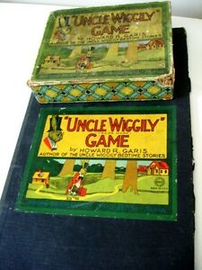1916 FIRST VERSION Uncle Wiggily Game HOWARD R. GARIS in box