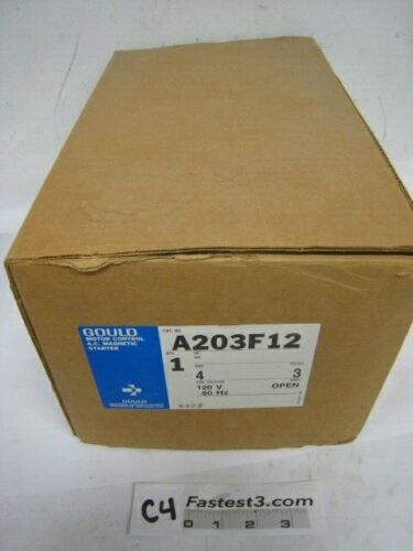 Gould A203F12 Motor Control AC Magnetic Starter