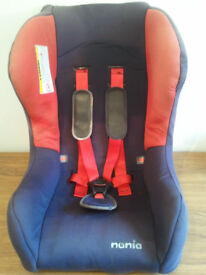 CAR SEAT, NANIA, UNIVERSAL, MOTHERCARE, 9 – 18 kg, SUITABLE FROM 6 MONTHS TO 6 YEARS OLD