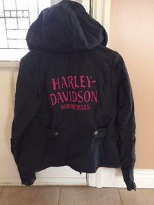 Womens Reversible Harley Davidson Jacket