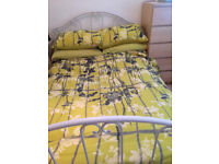 Laura Ashley Ivory Double Bed Frame - Frame only no mattress
