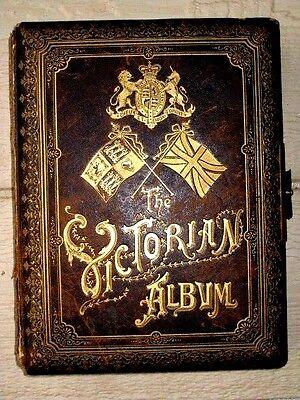 """Queen Victoria : """"The Victorian Album""""    A photo album of her glorius  reign"""