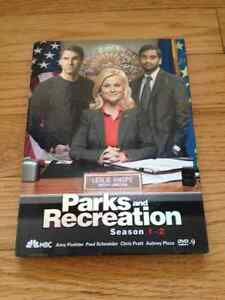 Parks and Recreation Complete Season 1 and 2 DVDs Set