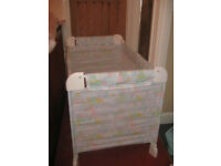 Travel Cot & Baby Sling