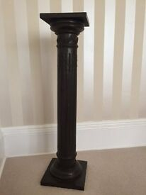 Antique Style Decorative heavy Bronze Pillar Column 41 Inches Base 10 inches