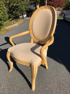 Dining Room Armchairs Excellent Condition -Worth $500each