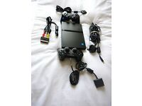 Sony PS2 /SonyPlaystation 2 Slim Black Console
