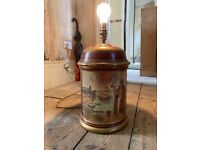 Traditional vintage lamp