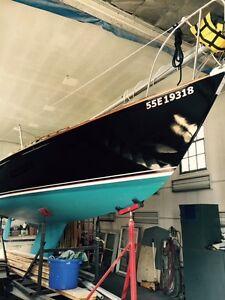 As new Viking 28 rebuilt sailboat