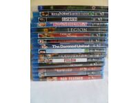 15 Blu rays-brand new sealed 2 pounds each or 24.00 pounds for the lot