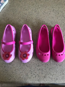 Girl's Croc Shoes Size 13
