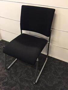 Black and Charcoal Office and Waiting Room Chairs Gosford Gosford Area Preview