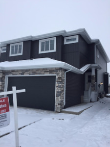 Newly Built Duplex for Sale in Fort Sask!
