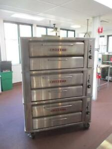 Blodgett triple deck gas  pizza oven - near new