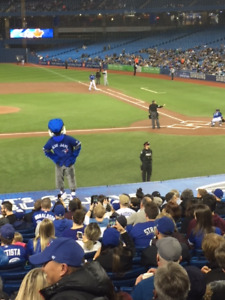Blue Jays Tickets  4 seats Field Level Infield