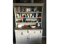 Beautiful Vintage Dresser, hand painted with farrow and ball Off White