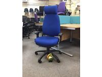 High Back Managers Chair with Headrest