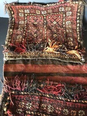 Old Turkish Anatolian Donkey Bag …beautiful utilitarian collection item