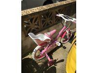 Girls bike - 3-5 years