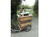 BBQ catering food trailer, small business