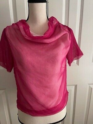 DRIES VAN NOTEN Fuchsia Top
